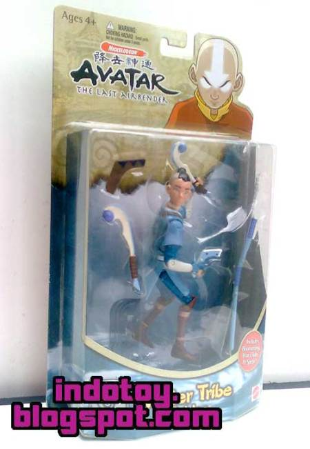 Jual Avatar Last Air Bender Action Figure : Sokka the Water Tribe