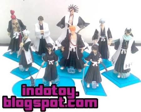Jual Bleach isi 9 Figure indotoy toko online