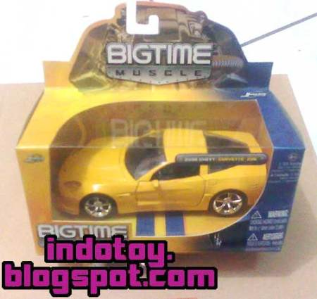 Jual Jada Toys  Bigtime Muscle : 2006 Chevy Corvette Z06 indotoy toko online