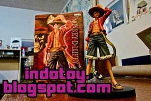 Jual Banpresto Grand Line Men Vol.10 - Monkey D. Luffy  Figure indotoy toko online