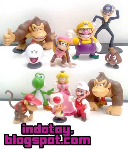 JJual Mario Bross Galaxy Figure indotoy toko online