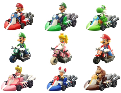 Jual Mario Kart Pull Back Racers 2 indotoy toko online