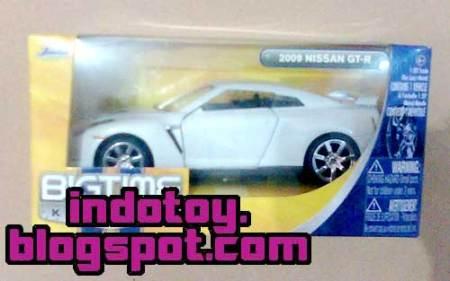 Jual Jada Toys  Jual Jada Toys  Bigtime Kustoms : 2009 Nissan GT-R indotoy toko online