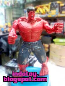 Jual Green Hulk Figure and Red Hulk Figure with Huge Size action Figure indotoy toko online