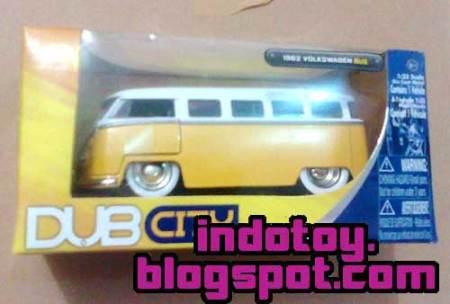 Jual Jada Toys  DUB CITY : 1962 Volkswagen Bus indotoy toko online