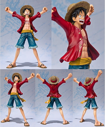 Jual Figuart Zero One Piece New World : Monkey D Luffy Figure indotoy toko online
