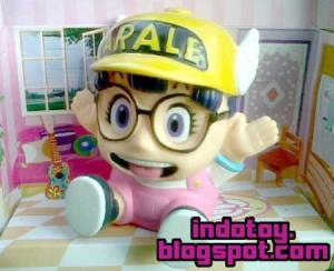 Jual Arale Chan Chara Bank Figure indotoy toko online