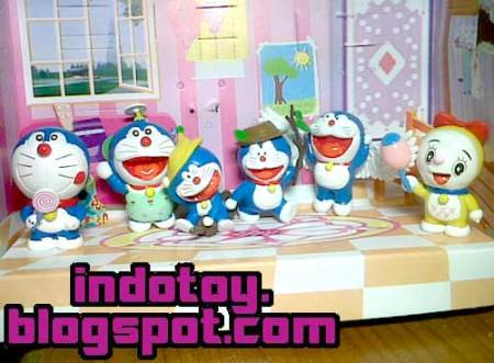 Jual Doraemon Fantasy Figure isi 6 indotoy action figure online  shop