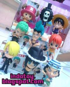 Jual One Piece Figure Mugirawa Crew Chibi indotoy toko online figure