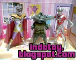 Jual Ultraman seri 3 Action Figure indotoy toko online