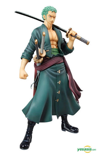 Jual P.O.P New World Version : Roronoa Zorro Sailing Again Action Figure
