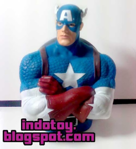 Jual Captain America Character Bank