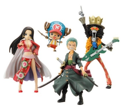 Jual One Piece HalfAges Figure seri 2