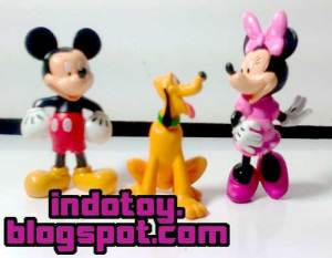 jual action figure mikeymouse donald duck