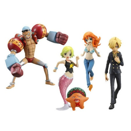 Jual One Piece HalfAges Figure seri 3