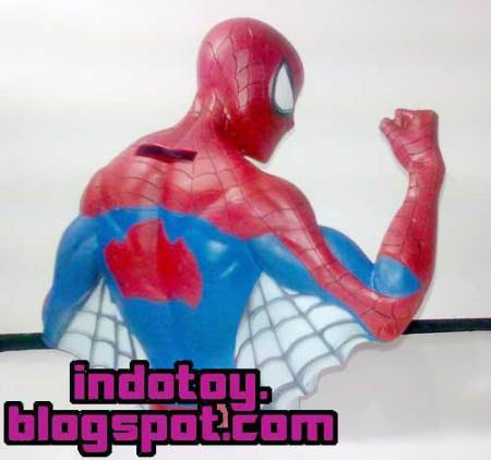 Jual Amazing Spiderman Character Bank