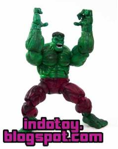 Jual Hulk Action Figure Gamma Punch Loose