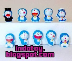 Jual Doraemon Mini Figure isi 10