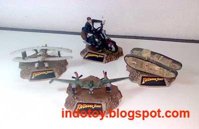 Jual indiana Jones Diecast Collection