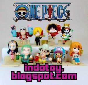 Jual One Piece Mugirwara Crew - New World Chibi Figure