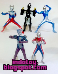 Jual Action Figure Ultraman seri 6
