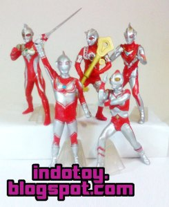 Jual Action Figure Ultraman seri 7