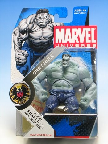 Action Figure Grey Hulk Marvel Universe