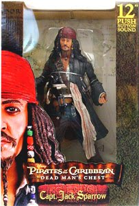 Jual Jack Sparrow 12 inch Dead Man Chest Action Figure