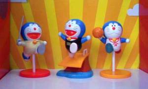 Doraemon Sport Figure