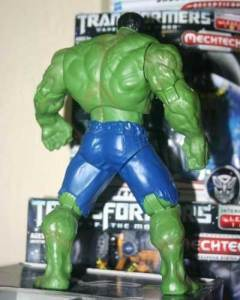 Jual Hulk Movie 2008 WalMart Action Figure