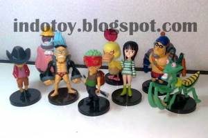Jual One Piece Strong World seri 2 Chibi Action Figure